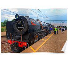 Elize the Locomotive Poster