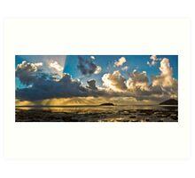 Esplanade Panorama Art Print