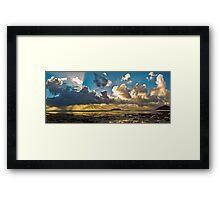 Esplanade Panorama Framed Print