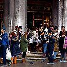 Tourists by Richard Pitman