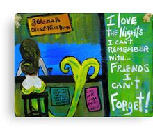 Remember And Forget Canvas Print