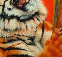 Tiger Tiger Burning Bright Sticker