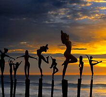 SUNSET SILHOUETTES by Elizabeth Giupponi