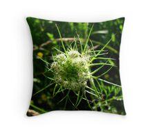 Fierce Flora Throw Pillow