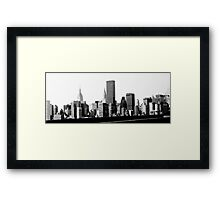 City of dreams Framed Print