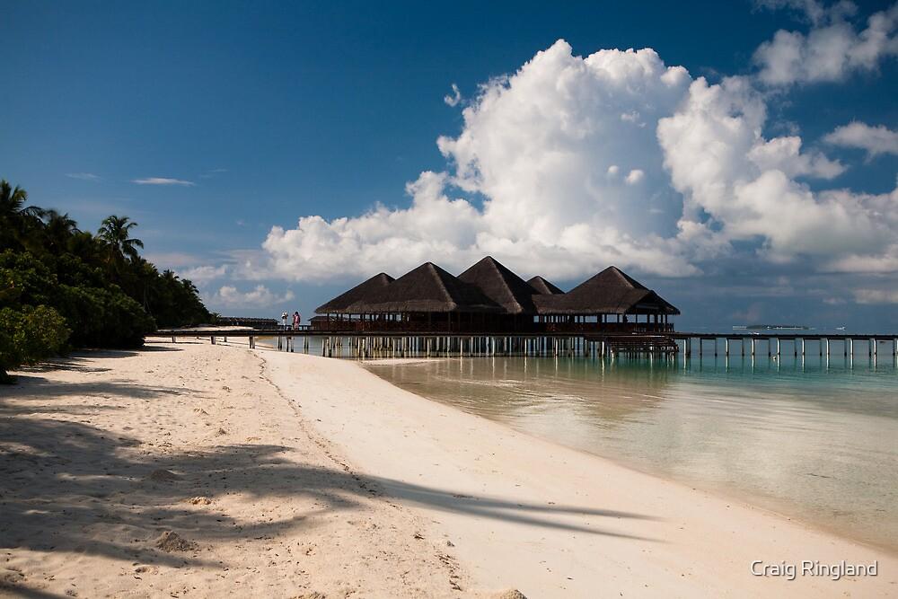 Beach Bar Maldives by Craig Ringland