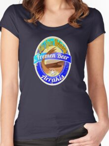 FREMEN BEER OLD SPICE MELANGE  Women's Fitted Scoop T-Shirt