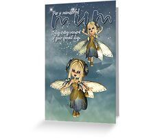 Birthday / Mother's Day Card For Mum With Moonies Cutie Pie Fairy  Greeting Card