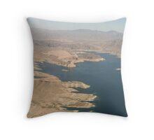 lake mead Throw Pillow