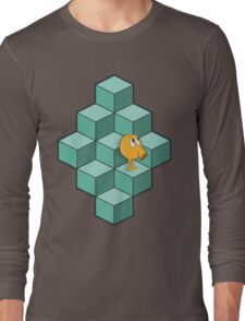 QBert is waiting... Long Sleeve T-Shirt