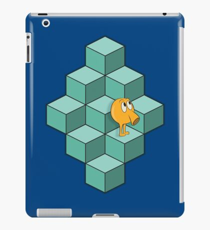 QBert is waiting... iPad Case/Skin