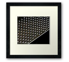 Just grate Framed Print