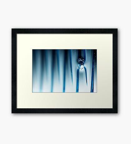Abstract Macro #130 Framed Print