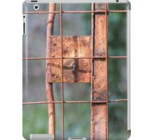 old iron gate iPad Case/Skin
