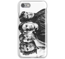 The Many Faces of Nathan Fillion iPhone Case/Skin