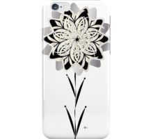 Art Deco Blooming Number 3 iPhone Case/Skin