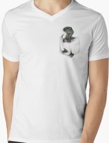 Pocket Protector - Delta Mens V-Neck T-Shirt