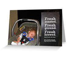 Fresh Greeting Card