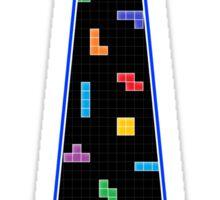 Tetris Tie - Blue Sticker