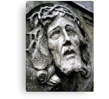 Stone Jesus  Canvas Print