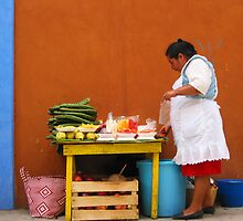 Mexican Woman by Christine Anna Wilson