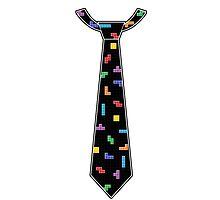 Tetris Tie by GeekyAngel