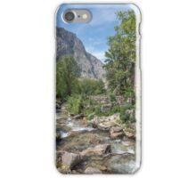 Mountain village in the Picos de Europa iPhone Case/Skin