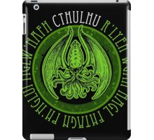 Invoking Cthulhu iPad Case/Skin