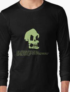 Murray, the invincible demonic skull Long Sleeve T-Shirt
