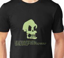 Murray, the invincible demonic skull Unisex T-Shirt