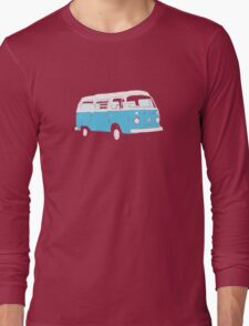 Bay Window Campervan Basic Colours (see description) Long Sleeve T-Shirt
