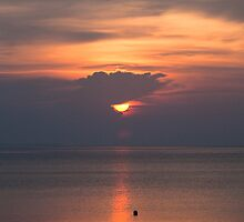 Sunset in the Maldives by Craig Ringland