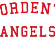 Corden's Angels One Direction Sticker