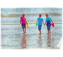 Water Carriers ~ Lyme Regis Poster