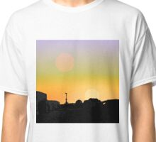 Sunrises Over Mos Eisley Classic T-Shirt