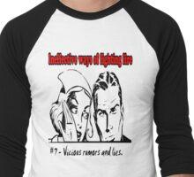Vicious Rumors and LIes Men's Baseball ¾ T-Shirt