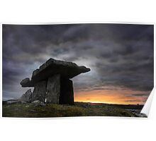 Dolmen county clare Poster
