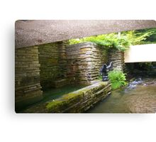Falling Water, Pennsylvania Canvas Print