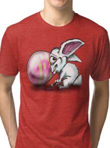 Easter Bunny n Easter Egg Tri-blend T-Shirt