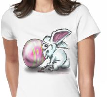 Easter Bunny n Easter Egg Womens Fitted T-Shirt