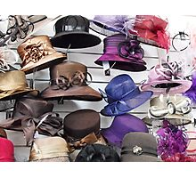 Wall of Hats Photographic Print