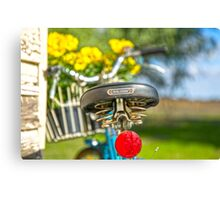 Old RALEIGH Bike Seat.. Canvas Print