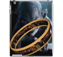 Gollum Ring iPad Case/Skin