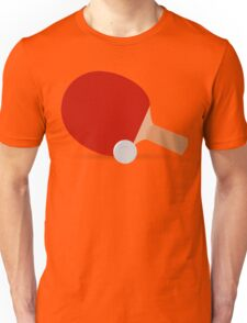 Ping Pong, Bat & Ball Unisex T-Shirt