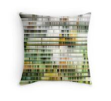 Modern High Rise Apartments Throw Pillow