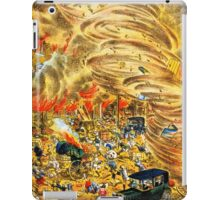 The whirlwind of fire attacked Yoshiwara street iPad Case/Skin