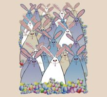 Happy Easter Bunnies by Lotacats
