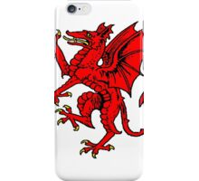 rampant dragon iPhone Case/Skin