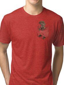 Pocket Protector - Clever Girl Tri-blend T-Shirt