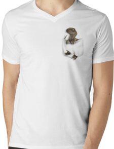 Pocket Protector - Clever Girl Mens V-Neck T-Shirt
